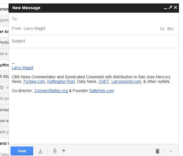 Gmail's New Compose Window On By Default