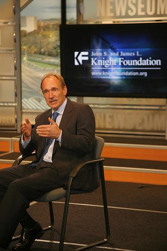 Tim-Berners Lee (Source: Knight Foundation)