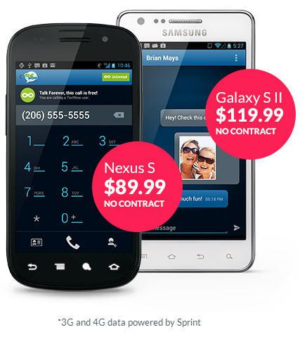 TextNow offers cheap refurbished Android phones with no contract