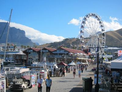 The Victoria & Alfred Waterfront is a vibrant area for tourists, with many of Cape Town's best shops, hotels and restaurants.