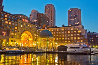 The 5-Star Boston Harbor Hotel is the only luxury lodging on the city's famous waterfront.
