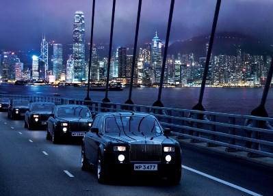 Despite the helipad, few hotel arrivals on earth are as dramatic as the ride from the airport in one of the Peninsula's signature custom Rolls Royces past the fantastic Hong Kong skyline.