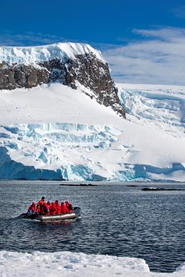 Group tours are especially beneficial for visiting tough to reach places like the Arctic regions.... [+] Photo: Abercrombie & Kent