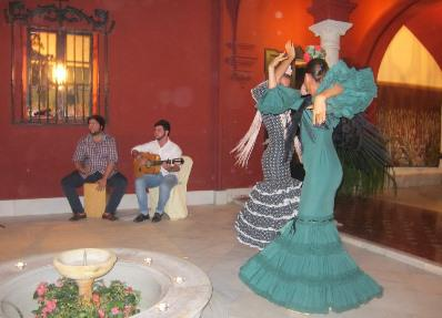 High-end tour operators also pack in a few unique and special cultural experiences, like the private... [+] Flamenco session our group attended.