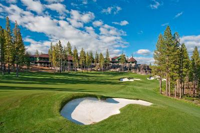 Martis Camp has a highly rated Tom Fazio golf course and an amazing clubhouse.