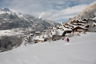 Guests of the deluxe Chalet Pelerin in the French Alps get privately guided ski tours of the five surrounding ski resorts.