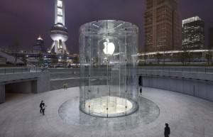 Apple store in Pudong, Shanghai. (Image credit: digitaltrends.com)