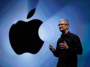 Apple's CEO Tim Cook. (Image credit: AP/ Eric Risberg)