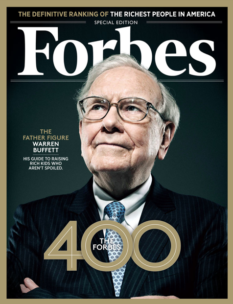 Our 32nd Edition of the FORBES 400 carries on a 96-year-old message of entrepreneurial capitalism.