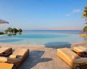 The Infinity Pool At The Kempinski Ishtar Dead Sea