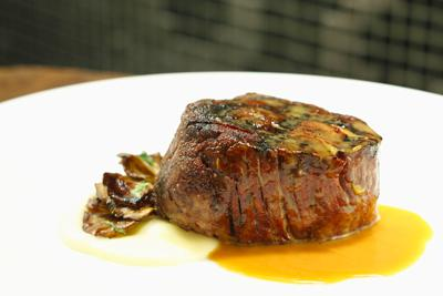 Filet Mignon At Jean George Steakhouse