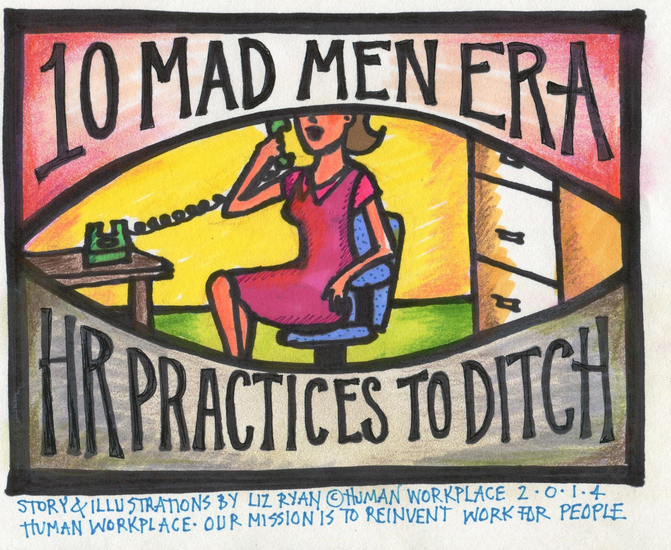 Ten Mad Men-Era HR Practices To Ditch In 2014