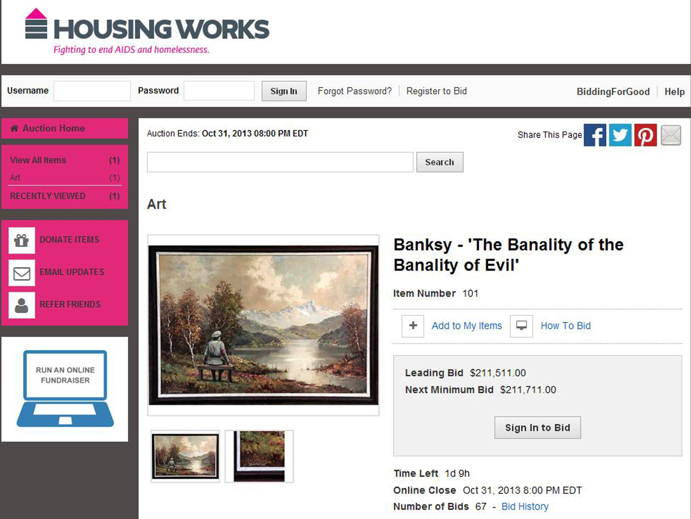 the banality of the banality of evil banksy