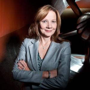 Mary Barra will become GM's CEO on January 15, 2014.