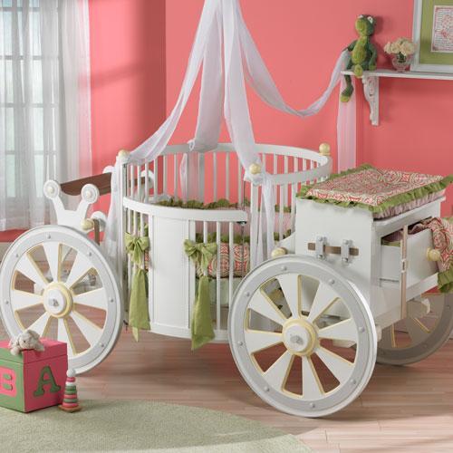 A Little Princess Nursery Design: A Royal Nursery For Your Own Little Prince (Or Princess