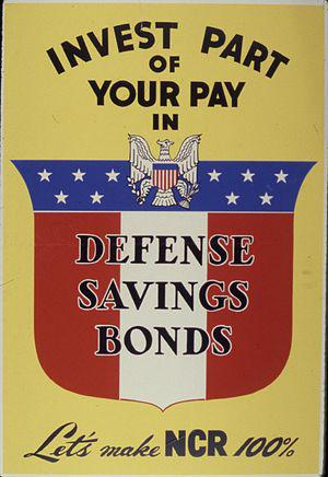 Invest Part of Your Pay in Defense Savings Bon...