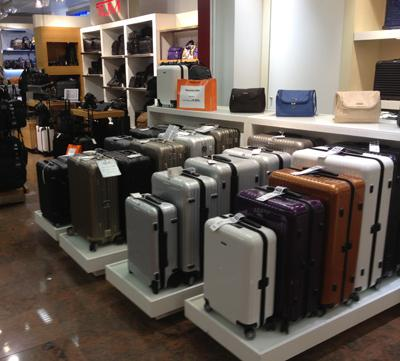 All of the major luggage manufacturers are producing four-wheel cases made out of lightweight... [+] plastic-based materials