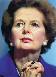 """You can't lead from the crowd."" - Margaret Thatcher"