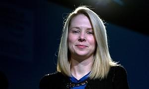 Marissa Mayer, CEO of Yahoo!, attends a sessio...
