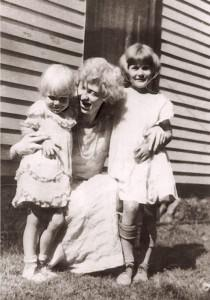 Betty with her mother and older sister. (Photo Credit: Betty Hutton Estate)