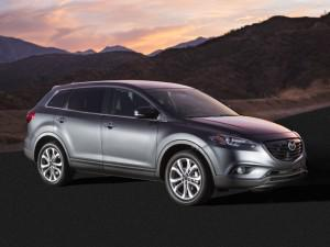 The Mazda CX-9 gets a new nose for 2013. (Credit: Mazda)