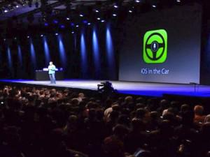 Apple's 'iOS In The Car' Lets Drivers Access Their iPhone Via The Dashboard Screen