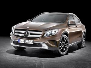 2015 Mercedes-Benz GLA-Class (Credit: Mercedes)