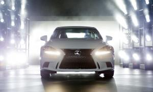 2014 Lexus IS reveal at NAIAS