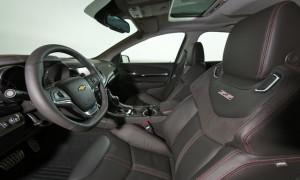 Chevy SS interior shot