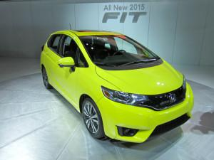 The Honda Fit gets a bigger interior for 2015 and a new engine. (Credit: Matthew)