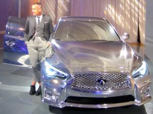 What The 2014 Infiniti Q50 Looks Like With A Makeover By A Fashion Designer