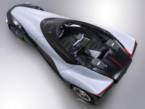 The Nissan BladeGlider's triangular form reduces weight and increases aerodynamic efficiency. (Credit: Nissan)