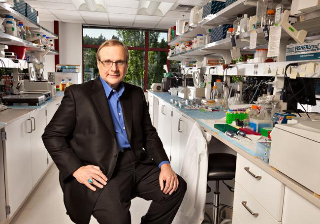 Paul Allen at the Allen Institute For Brain Science