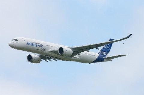 Airbus A350 at the Paris Air Show