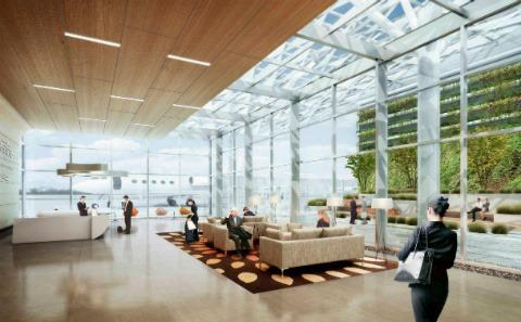 Google's Shiny New $82 Million Airport Terminal In Silicon Valley