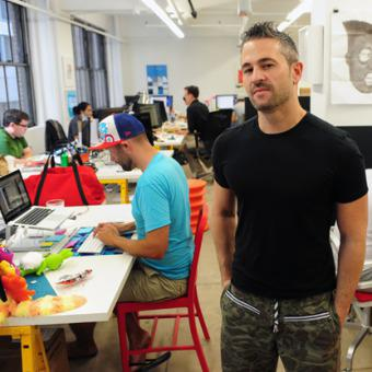 The $321 million face of Fab's Jason Goldberg. Fab raised the largest venture round of Q2 2013.