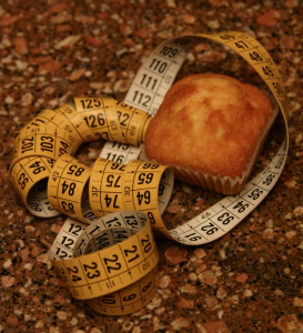 Snacks can actually decrease your measurements (image: Morguefile)