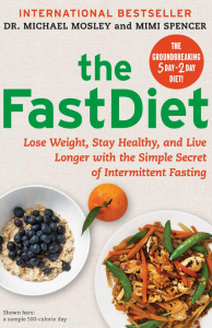 British sensation The FastDiet arrives in American Bookstores (image: Amazon)