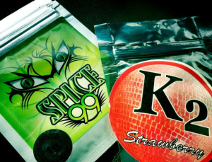 Synthetic marijuana or spice has been linked with brain damage, psychosis, and kidney failure (photo: Houston PD)