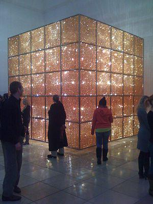 English: ″Cube Light″ by chinese art...