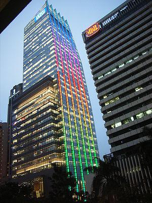 HK AIG Tower Lighting 20