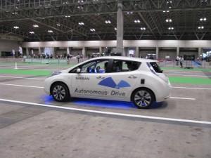 Nissan's Autonomous Car: A Test Drive