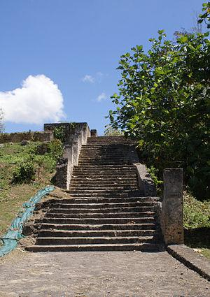 English: Stairs of the Slaves (Les Marches des...