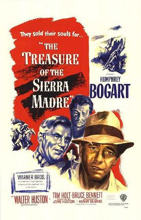 Film poster for The Treasure of the Sierra Mad...