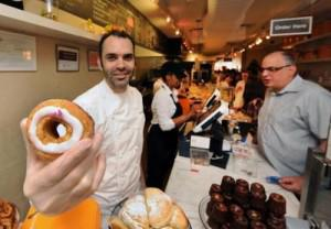 The Cronut and Dominique Ansel. (Photo source: Google)