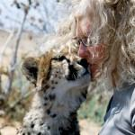 Conservationist luminary, Marieta van der Merwe and Friend, Harnas Wildlife Foundation, Namibia,... [+] Africa © M. C. Tobias