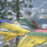 Bhutanese prayer flags © J. G. Morrison