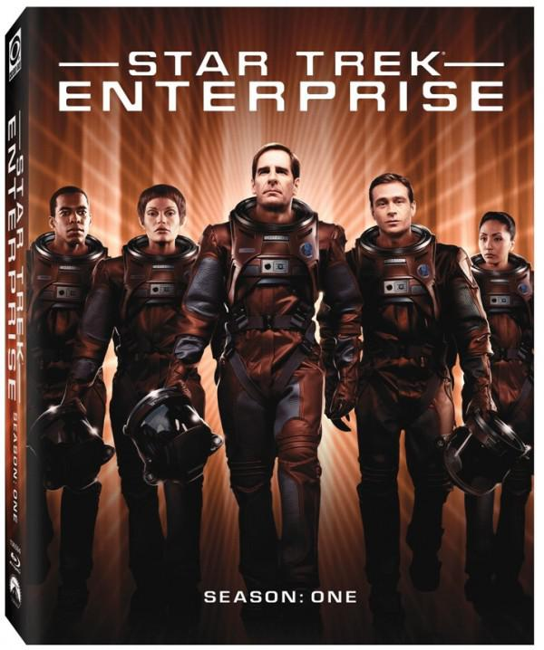 Star Trek: Enterprise cover art. Image courtesy of CBS Home Entertainment and Paramount Home Media Distribution