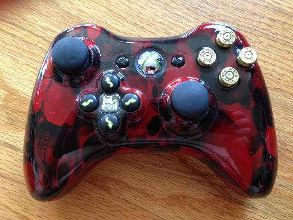 Evil Controllers Gears of War-themed controller. Photo: Michael Venables for Forbes