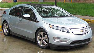 2011 Chevrolet Volt photographed in College Pa...